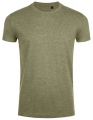 Koszulka t-shirt Fit męska Sol's Imperial L189 Heather Khaki.jpg