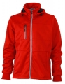 Męski Softshell James Nicholson Maritime Jacket JN1078 Red Navy White.jpg