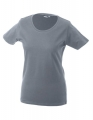 Koszulka t-shirt damska James Nicholson Workwear-T Women Grey Heather.jpg