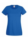 Koszulka t-shirt damska Fruit of The Loom Valueweight T Lady-Fit 61-372-0 Royal Blue.jpg