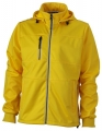 Męski Softshell James Nicholson Maritime Jacket JN1078 Sun Yellow Navy.jpg