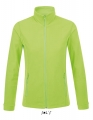 Polar damski Sol's Micro Fleece Zipped Jacket Nova Women 00587 Neon Green.jpg