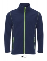 Polar męski Sol's Micro Fleece Zipped Jacket Nova Men 00586 Navy Apple Green.jpg
