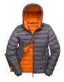 Kurtka pikowana damska Result Snow Bird R194F Grey Orange.jpg