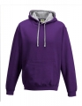 Bluza reklamowa z kapturem Just Hoods Varsity Hoodie JH003 Purple Heather Grey.jpg