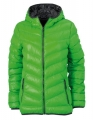 Kurtka puchowa damska James Nicholson Men's Down Jacket JN 1059 Green Carbon.jpg
