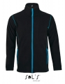 Polar męski Sol's Micro Fleece Zipped Jacket Nova Men 00586 Black Aqua.jpg