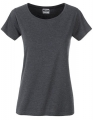 Koszula damska James Nicholson Ladies` Basic-T Black Heather.jpg