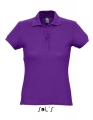 Koszulka polo damska Sol's Women´s Polo Passion 11338 Dark Purple.jpg