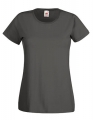 Koszulka t-shirt damska Fruit of The Loom Valueweight T Lady-Fit 61-372-0 Light Graphite.jpg