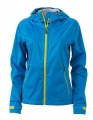 Damska kurtka Softshell James Nicholson Outdoor JN1097 Aqua Acid Yellow.jpg