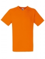 Koszulka t-shirt męska dekolt w serek Fruit of The Loom Valueweight V-Neck F270 Orange.jpg