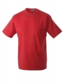 Koszula t-shirt męska James Nicholson Workwear-T Men Red.jpg