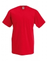 Koszulka t-shirt męska dekolt w serek Fruit of The Loom Valueweight V-Neck F270 Red.jpg