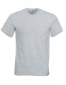 Koszulka t-shirt męska dekolt w serek Fruit of The Loom Valueweight V-Neck F270 Heather Grey.jpg