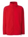 Polar męski Fruit of the Loom Fleece Jacket 62-510-0 Red.jpg