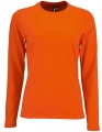 Koszula t-shirt z długim rękawem Womens Long-Sleeve T-Shirt Imperial Orange.jpg