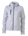Damski Softshell James Nicholson Maritime Jacket JN1077 White White Navy.jpg