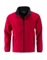 Kurtka softshell męska James Nicholson Promo JN1130 Red Black.jpg
