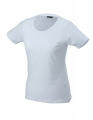 Koszulka t-shirt damska James Nicholson Workwear-T Women White.jpg