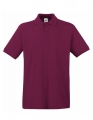 Koszulka polo męska Fruit of the Loom Premium Polo 63-218-0 Burgundy.jpg