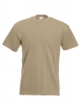 Koszulka t-shirt męska Fruit of The Loom Super Premium 61-044-0 Khaki.jpg