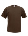 Koszulka t-shirt męska Fruit of The Loom Valueweight T 61-036-0 Chocolate.jpg
