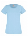 Koszulka t-shirt damska Fruit of The Loom Valueweight T Lady-Fit 61-372-0 Sky Blue.jpg