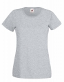 Koszulka t-shirt damska Fruit of The Loom Valueweight T Lady-Fit 61-372-0 Heather Grey.jpg