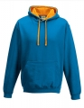 Bluza reklamowa z kapturem Just Hoods Varsity Hoodie JH003 Sapphire Blue Orange Crush.jpg