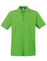 Koszulka polo męska Fruit of the Loom Premium Polo 63-218-0 Lime.jpg