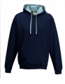 Bluza reklamowa z kapturem Just Hoods Varsity Hoodie JH003 New French Navy Sky Blue.jpg