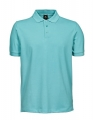 Koszulka polo męska Tee Jays Luxury Stretch Polo 1405 Aqua.jpg