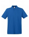 Koszulka polo męska Fruit of the Loom Premium Polo 63-218-0 Royal Blue.jpg