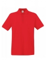 Koszulka polo męska Fruit of the Loom Premium Polo 63-218-0 Red.jpg