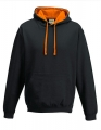 Bluza reklamowa z kapturem Just Hoods Varsity Hoodie JH003 Jet Black Orange.jpg