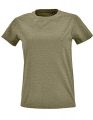 Koszulka t-shirt Fit damska Sol's Imperial L02080 Heather Khaki.jpg