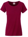 Koszula damska James Nicholson Ladies` Basic-T Wine.jpg