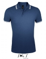 Koszulka polo męska Sol's Men´s Polo Shirt Pasadena 00577 French Navy White.jpg