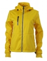 Damski Softshell James Nicholson Maritime Jacket JN1077 Sun Yellow Navy White.jpg