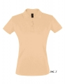 Koszulka polo damska Sols' Women´s Polo Shirt Perfect 11347 Sand.jpg