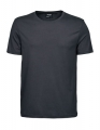 Koszulka t-shirt męska Tee Jays Luxury Tee Dark Grey Solid.jpg