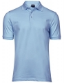 Koszulka polo męska Tee Jays Luxury Stretch Polo 1405 Light Blue.jpg