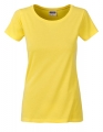 Koszula damska James Nicholson Ladies` Basic-T Yellow.jpg