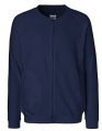 Bluza rozpinana Neutral Unisex Jacket with Zip O73501 Navy.jpg