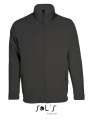 Polar męski Sol's Micro Fleece Zipped Jacket Nova Men 00586 Charcoal Grey Solid.jpg