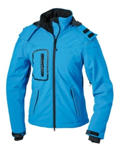 Kurtka zimowa damska James Nicholson Winter Softshell Jacket