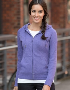 Bluza damska kapturem Russell HD Zipped Hood Sweat