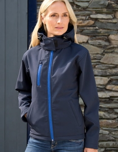 Damski Softshell Result TX Performance Hooded