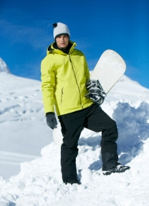 Kurtka zimowa męska James Nicholson Wintersport Softshell